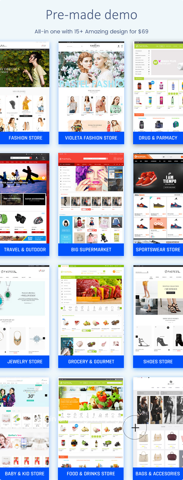 Fastest Plus - Best Prestashop 1.7 themes with 15  Unique Homepages - Welcome